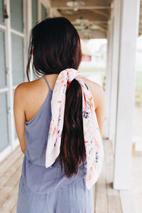 Lush Blush Tropical Scarf