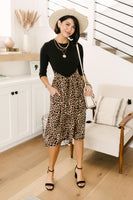 Shelby Animal Print Dress