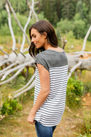 Astoria Stripes In Gray - ALL SALES FINAL