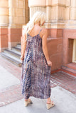 Bamboo Forest Tie Dye Maxi Dress