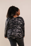 Black Cloud Tie Dye Pullover