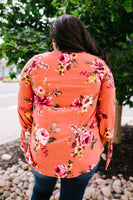 Ginger Fall Floral Blouse