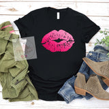 Pink Ombré Lips Tee***made to order***