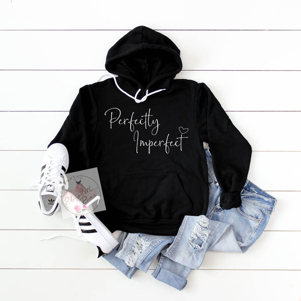 Perfectly Imperfect Hooded Sweatshirt***made to order***