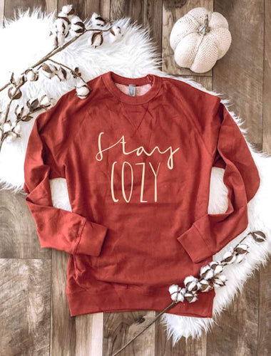 Stay Cozy Pullover