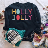 Holly Jolly Crewneck Sweatshirt***made to order***