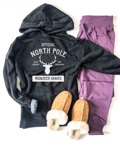 Take Me To The North Pole Hoodie *made to order*