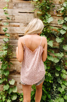 Ruffles & Dots Camisole In Pink