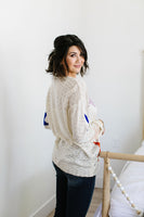 Starring You Sweater In Ivory