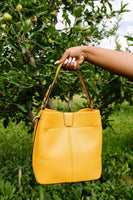 Tuscan Gold Bucket Bag