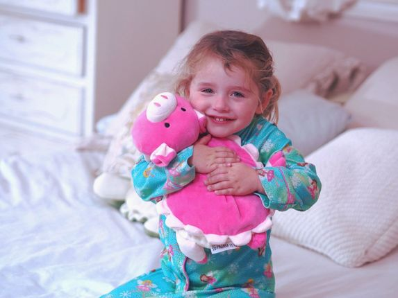 kids learn chores using their pajama pets stuffed animals