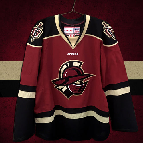 Youth Jersey - 2018-19 Garnet Team Color Replica Jerseys
