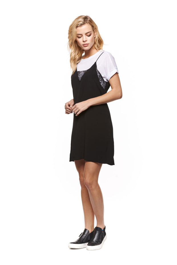 Twofer Slip Dress