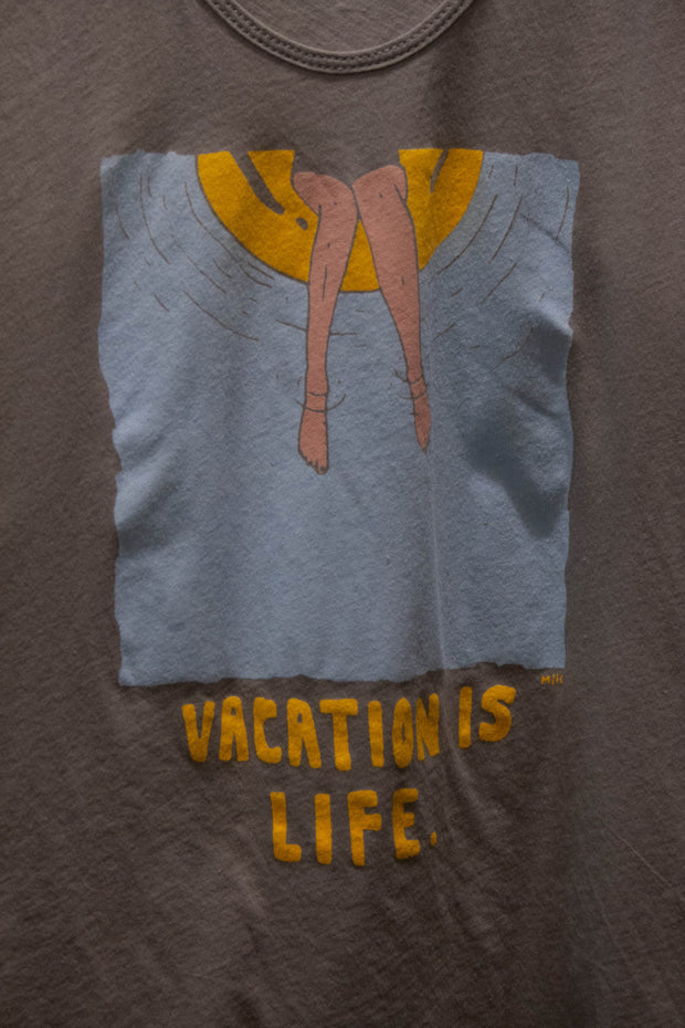 Vacation is Life Racerback Tank Top