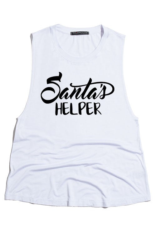 SANTA'S HELPER TANK TOP