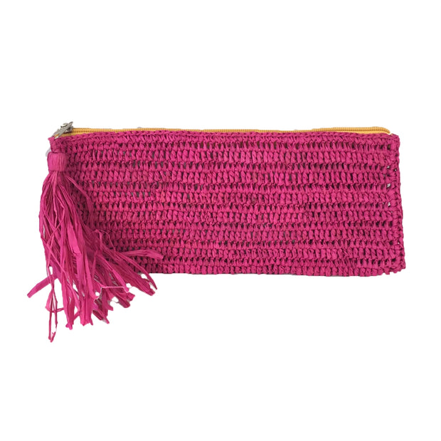 Emily - Crocheted Zip Clutch