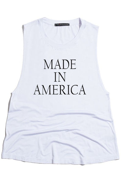 MADE IN AMERICA TANK TOP