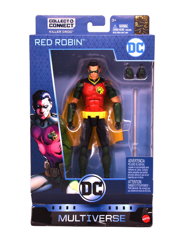 RED ROBIN - DC Multiverse Batman 80th Wave 12 Action Figure