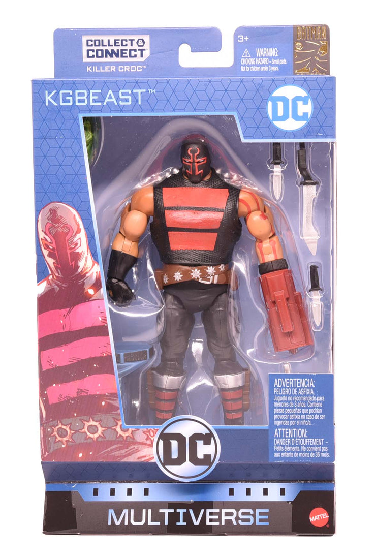 KGBEAST - DC Multiverse Batman 80th Wave 12 Action Figure