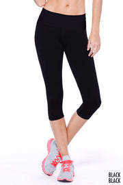 Capri Flex-Fit Yoga Pants