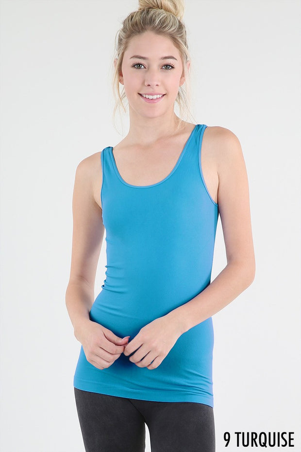 Simple Jersey Tank Top