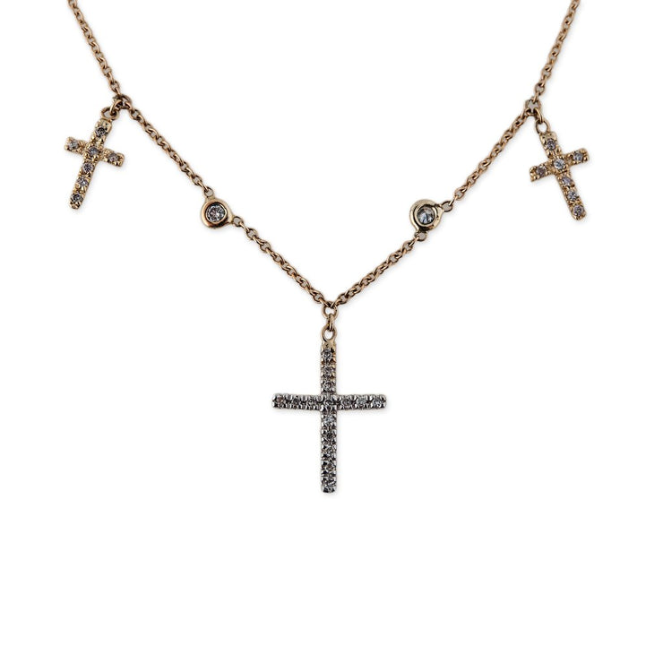 TRIPLE CROSS CHOKER