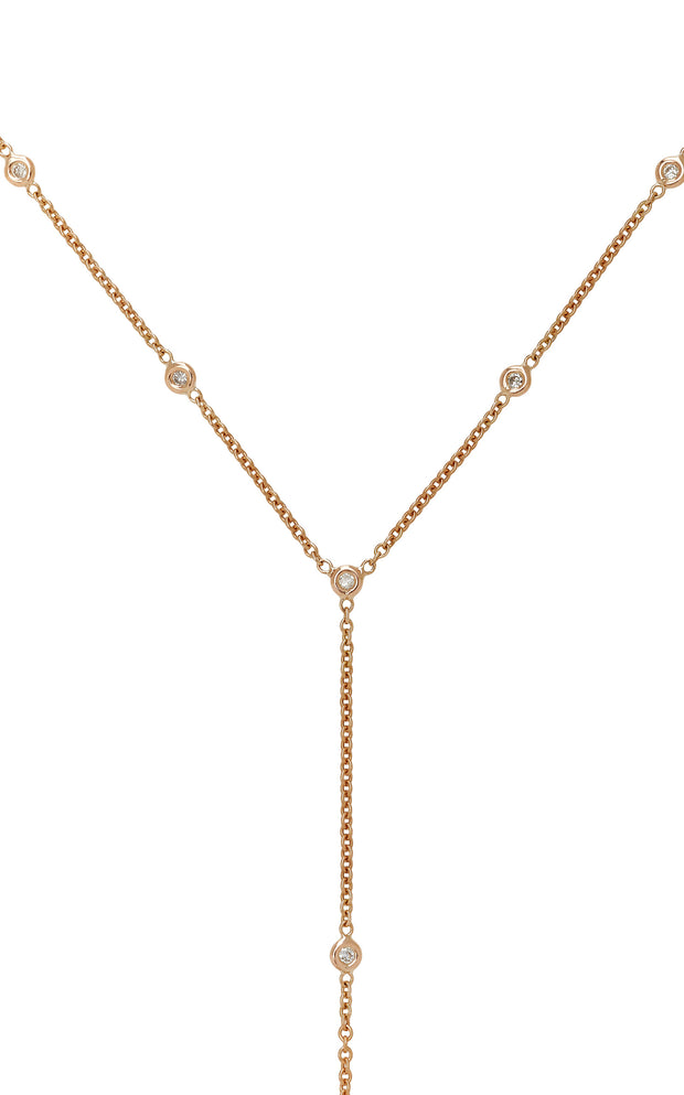 10 DIAMOND Y NECKLACE