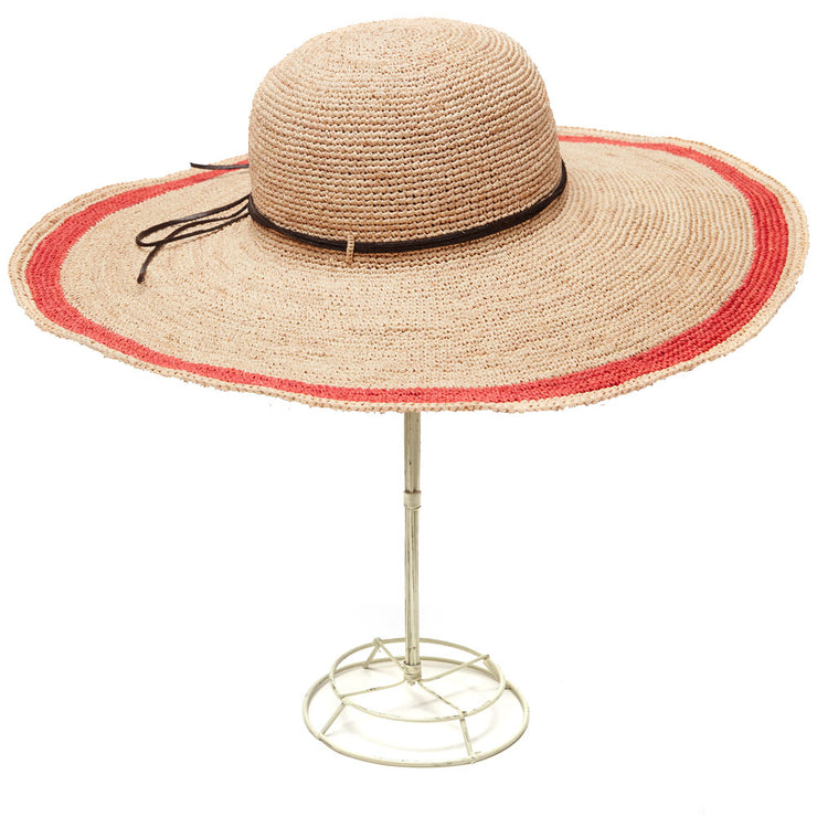 Tori - Crocheted Raffia Sun Hat