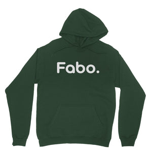 Fabo White Heavy Blend Hooded Sweatshirt
