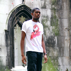 Handpainted Flamingo - Men's T shirt - MAYA K