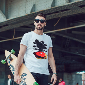 Handpainted Mickey - Men's T shirt - MAYA K