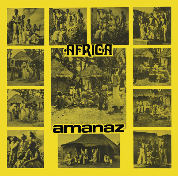 Africa by Amanaz on Now-Again Records