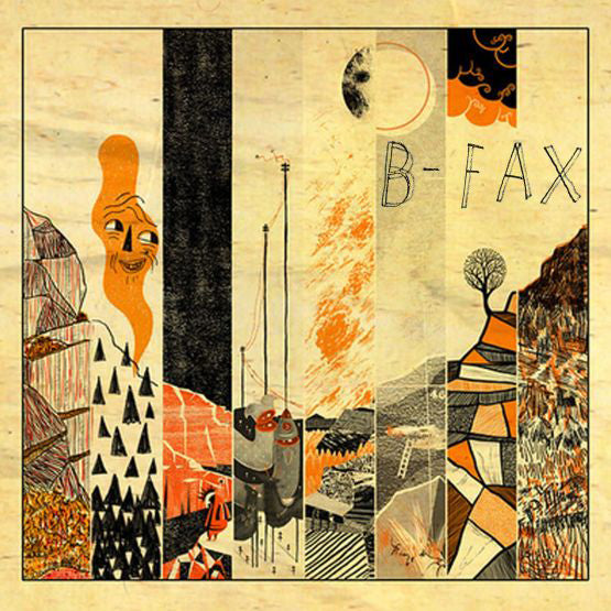 B-Fax self-titled album on Disco-O rdination
