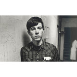 Black and white photo of Bill Callahan