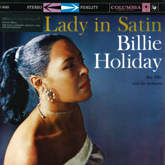 Lady In Satin By Billie Holiday On Wax Time In Color