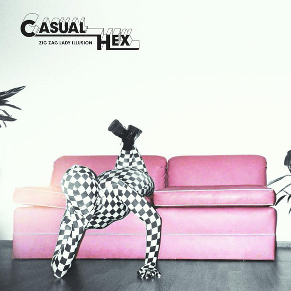 Zig Zag Lady Illusion by Casual Hex on Water Wing Records