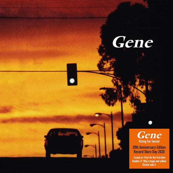 Rising For Sunset (20th Anniversary Edition) by Gene on Demon Records