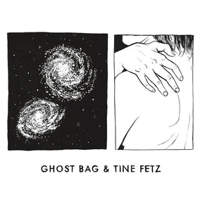 The self titled album and book by Ghost Bag & Tine Fetz on Adagio 830