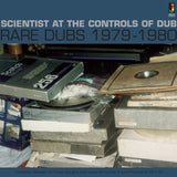Scientist At The Controls Of Dub: Rare Dubs 1979-1980 on Jamaican Records (the album cover features a photograph of a reel-to-reel tape in their carboard boxes
