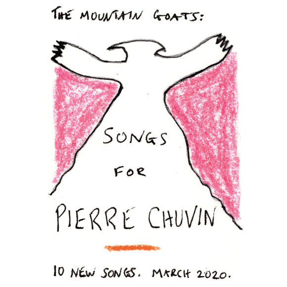 Songs For Pierre Chuvin by The Mountain Goats on Merge Records