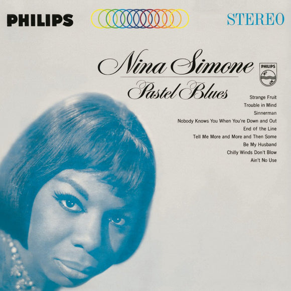 Pastel Blues by Nina Simone on Philips Records
