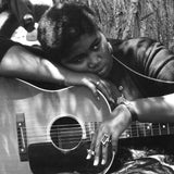 Odetta photographed in the mid-fifties