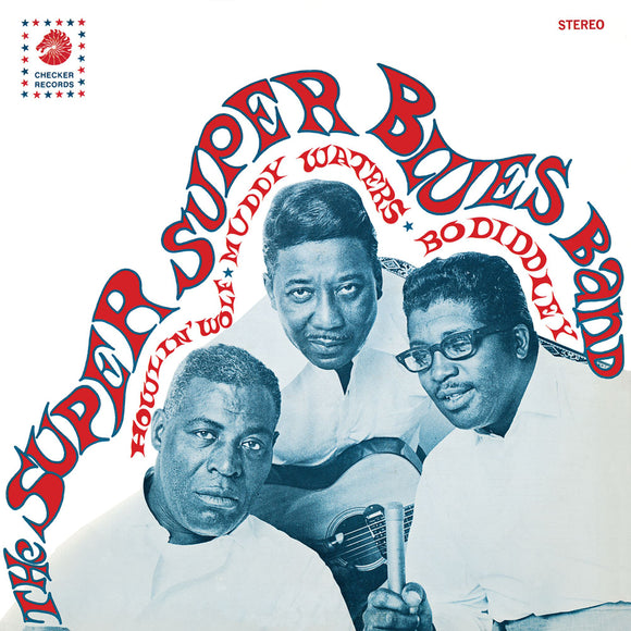Super Super Blues Band (Howlin' Wolf, Muddy Waters, Bo Diddley) on Jackpot Records
