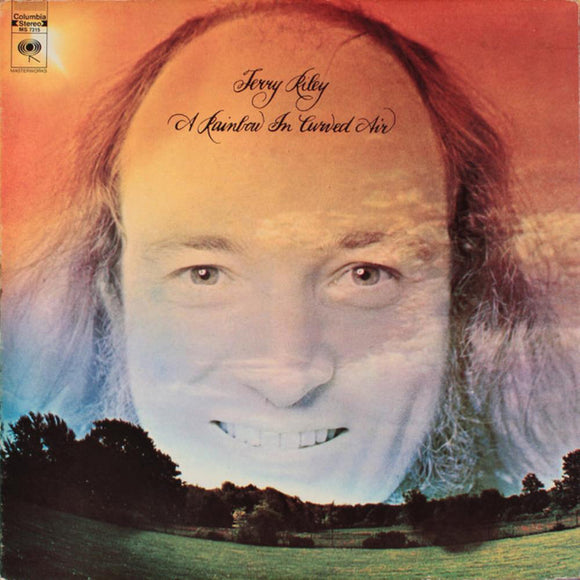 A Rainbow In Curved Air LP by Terry Riley on 8th Records