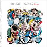 City Of Siege: Olympia by Tiny Holes on K Records (KLP271)
