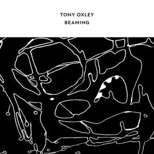 Beaming by Tony Oxley on Confront Recordings (part of the Core Series, the album cover has a white band across the top with the artist and title in black writing; beneath this is a white-on-black abstract line drawing)