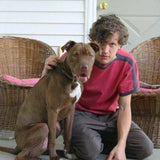 Attic Abasement's Mike Rheinheimer and a dog