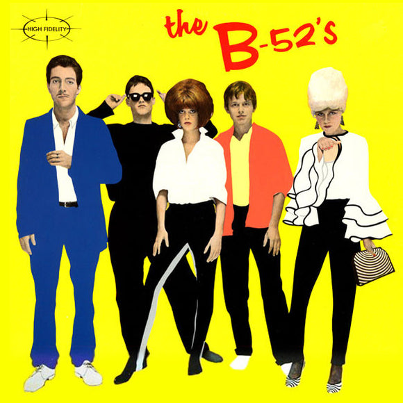 The B-52's self-titled debut album on Island Records