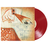 Limited blood-red vinyl version of Future Teenage Cave Artists by Deerhoof on Joyful Noise Records