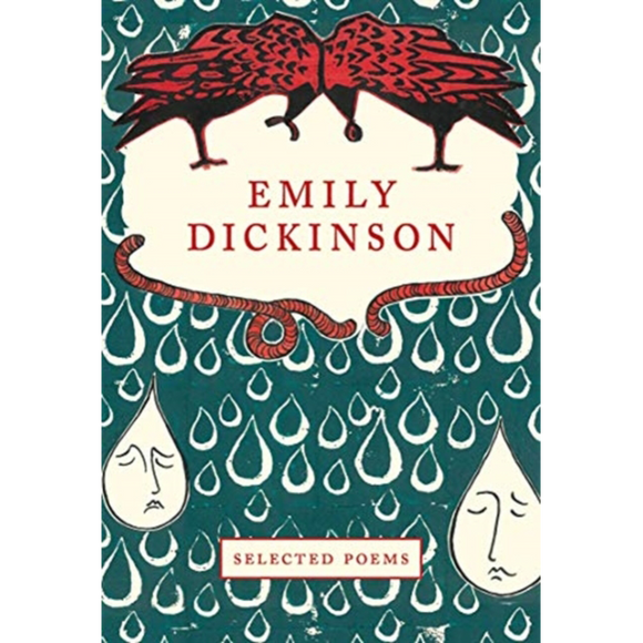 Selected Poems by Emily Dickinson, published in hardback by Mount Orleans Press with cover illustration by Allegra Fitzherbert